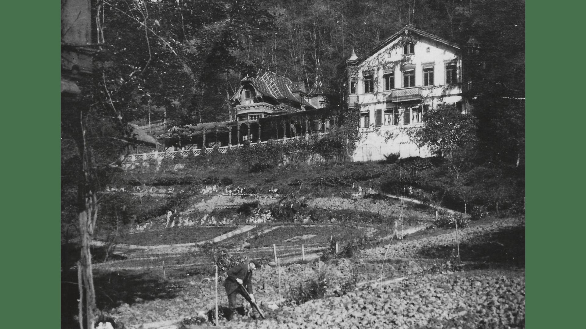Villa Steiner um 1890. Foto:  Archiv Arme Schulschwestern