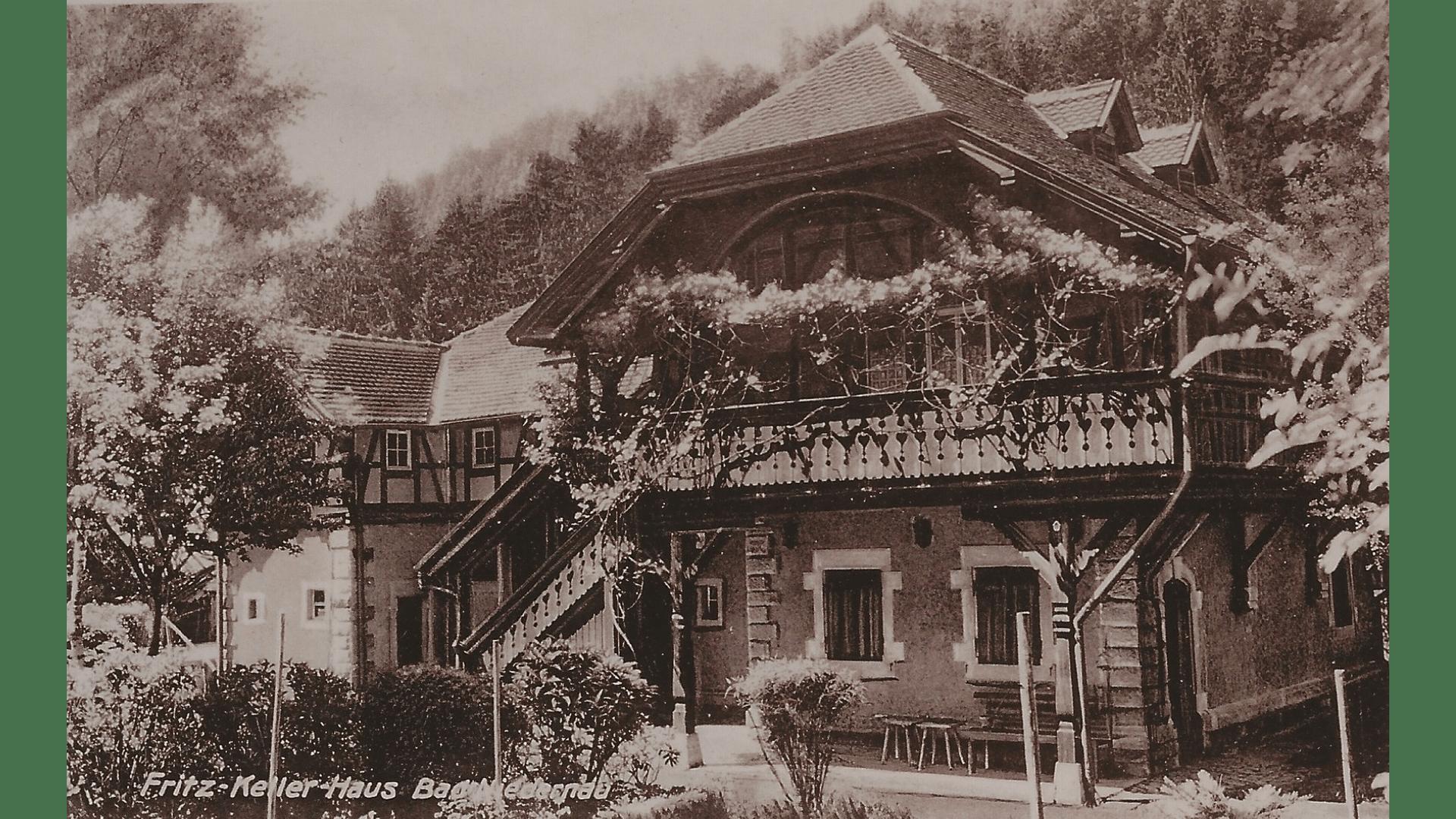 Fritz-Keller Haus - nach Karl Stengele 1899; Foto:  Archiv Arme Schulschwestern