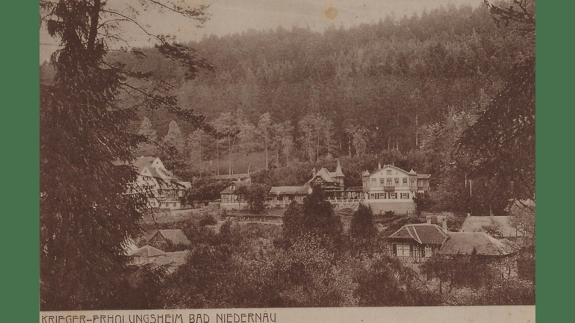 Bad Niedernau um 1917 - neuer Besitzer Kyffhäuserbund – Foto:  Archiv Arme Schulschwestern