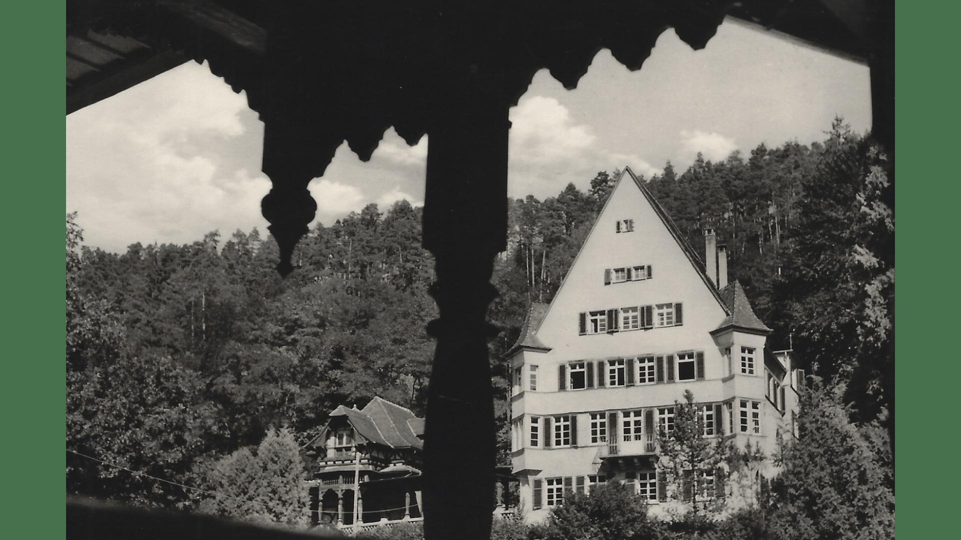 Aufgestockte Steinersche Villa ca 1960 – Foto; Archiv Arme Schulschwestern