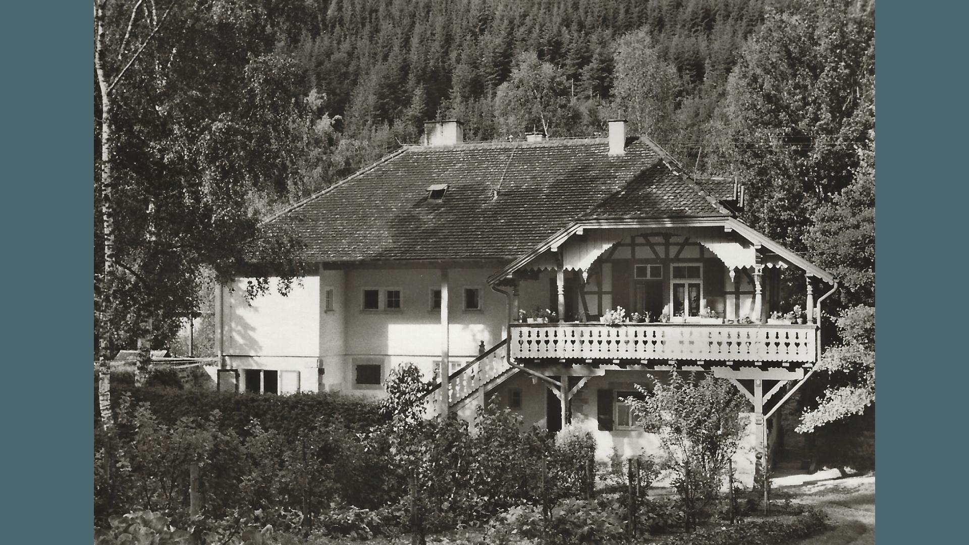 Fritz-Keller Haus ca. 1960; Foto: Archiv Arme Schulschwestern
