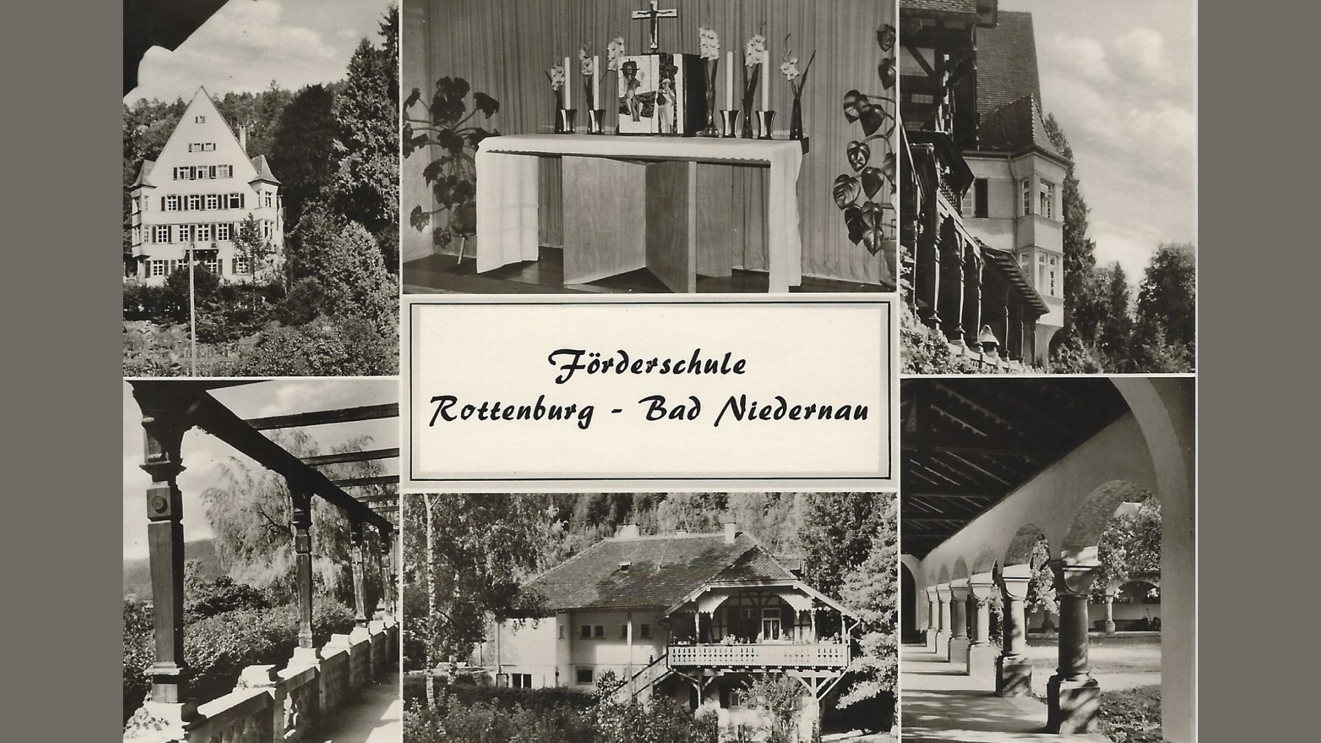 Förderschule für Spätaussiedler-Mädchen Beginn 1958; Foto: Archiv Arme Schulschwestern