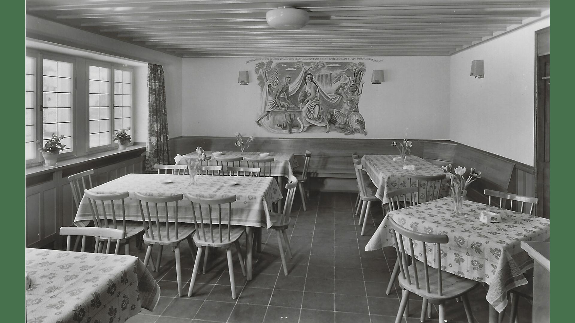 Quellenstube, ab 1964 Arztpraxis; Foto:  Archiv Arme Schulschwestern
