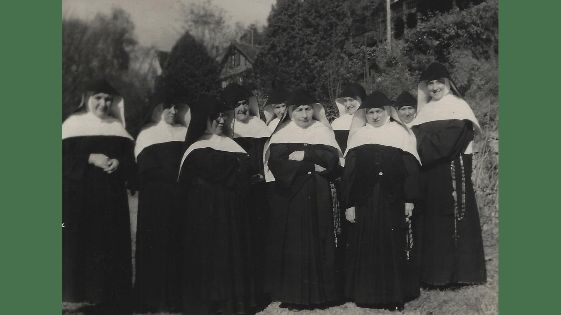 Arme Schulschwestern von Unserer Lieben Frau, - Übernahme des Hauses am Berg  und Einzug 1957 – Foto: Archiv Arme Schulschwestern