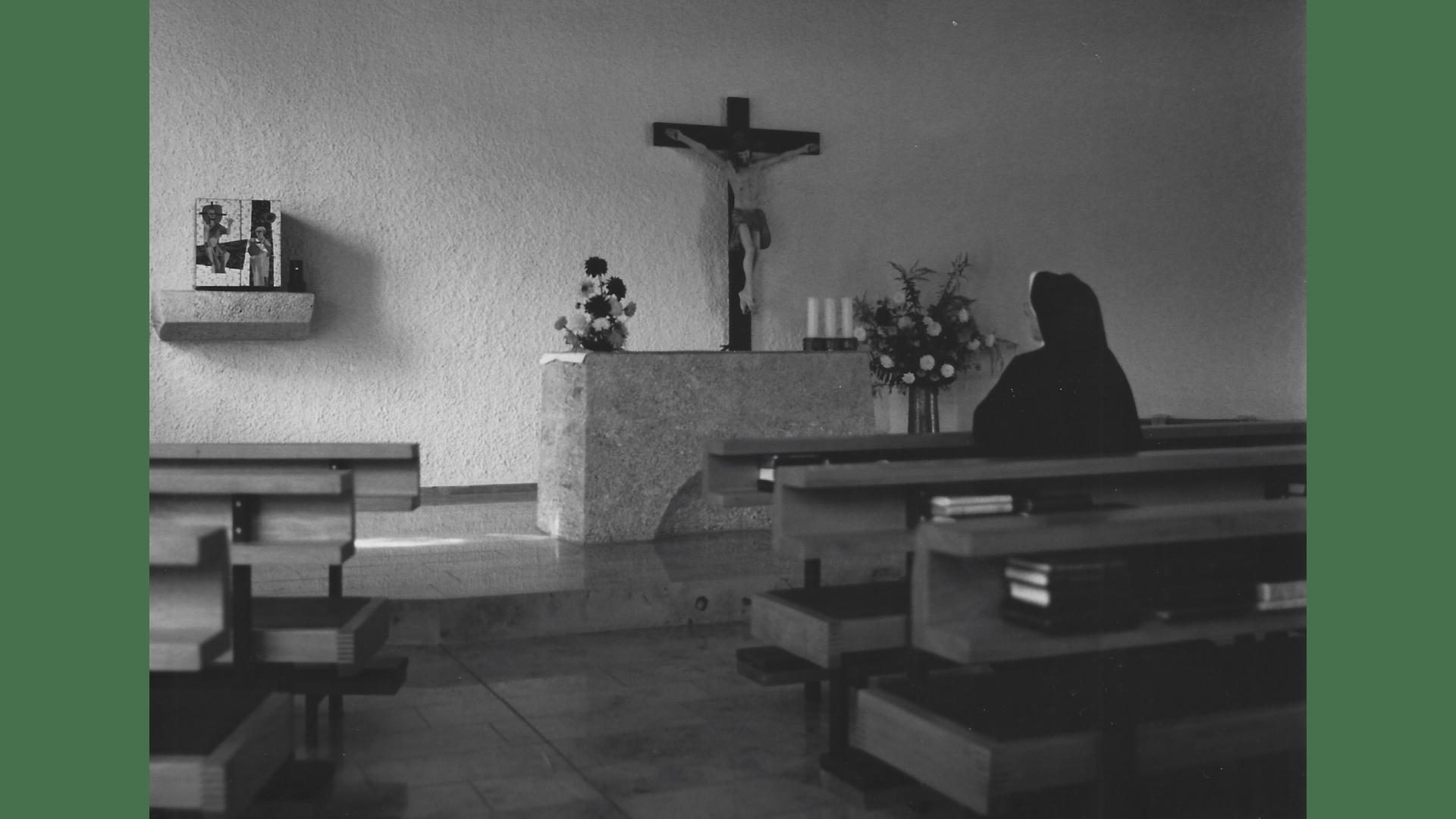 Die Kapelle, Ort der Stille und des Gebetes. Foto: Archiv Arme Schulschwestern