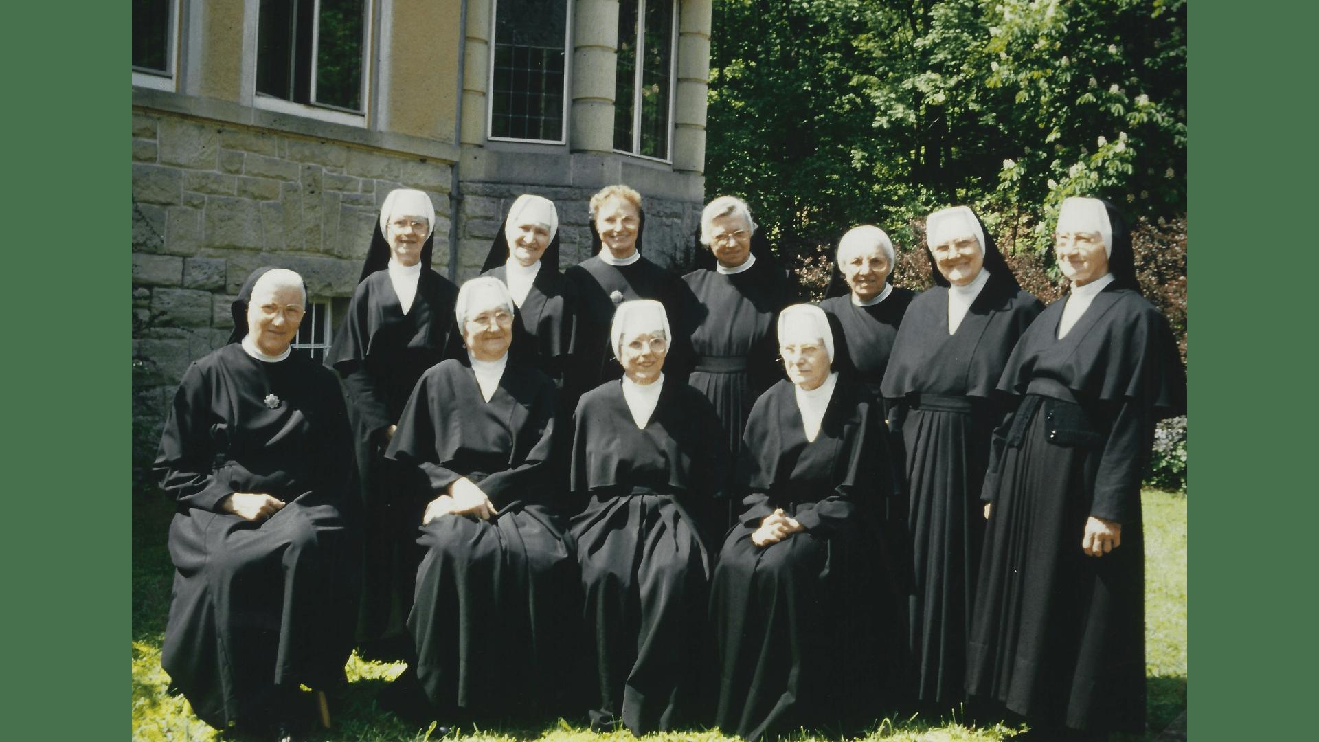 Die Schwestern, Gruppenfoto 1993. Foto: Archiv Arme Schulschwestern