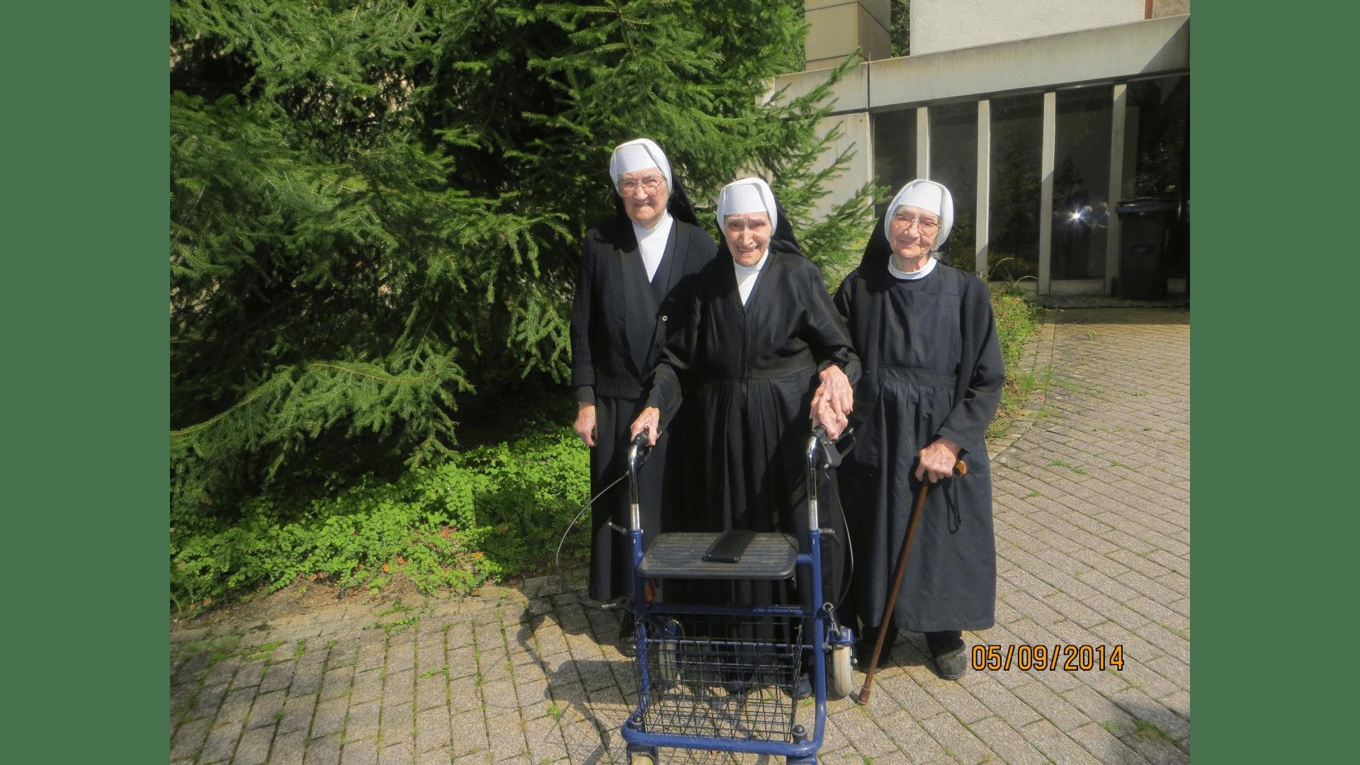 Die noch lebenden Schwestern 2014. Foto: Archiv Arme Schulschwestern