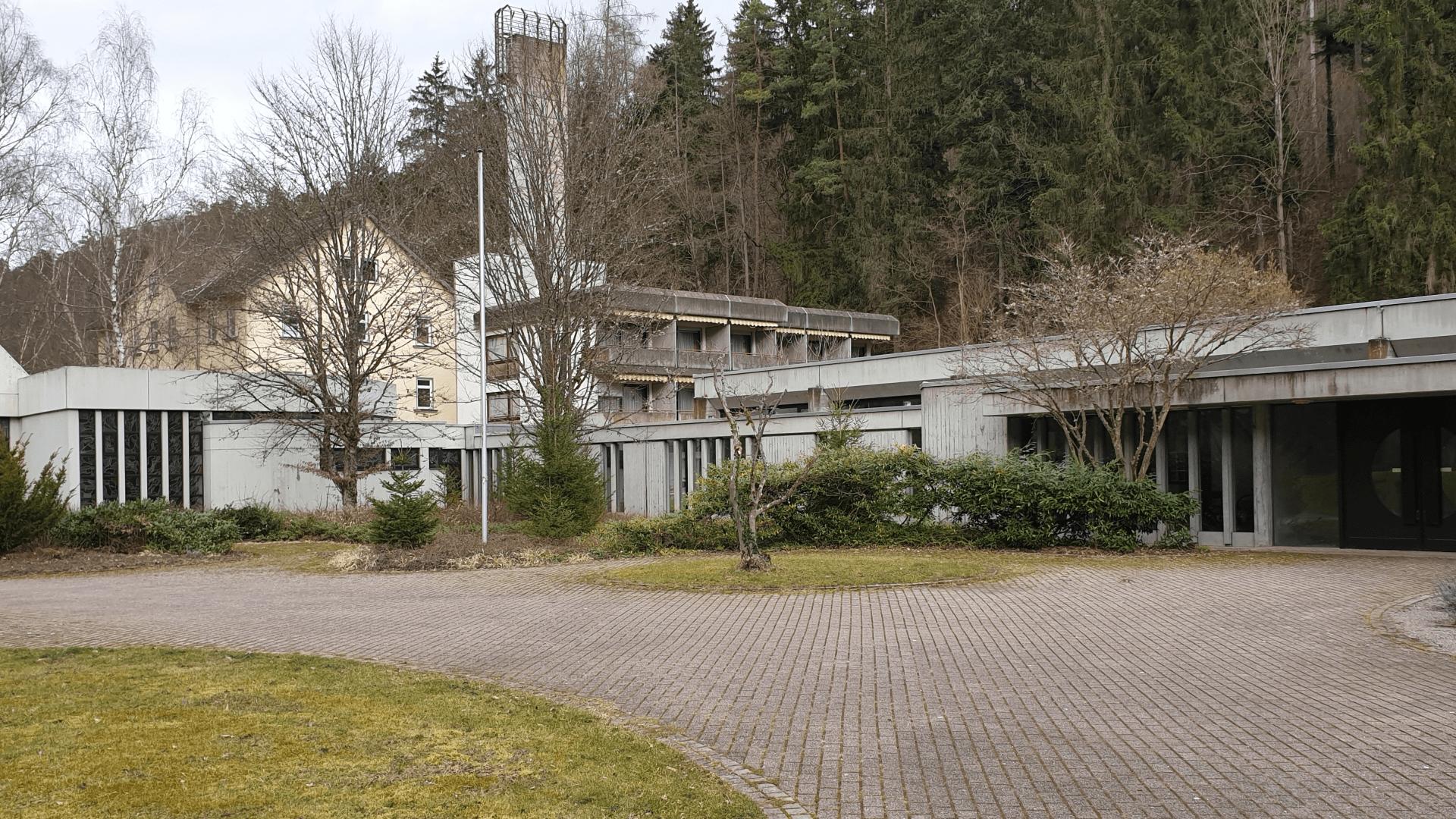 Kurgebäude und Schwesternhaus. Foto Archiv Arme Schulschwestern