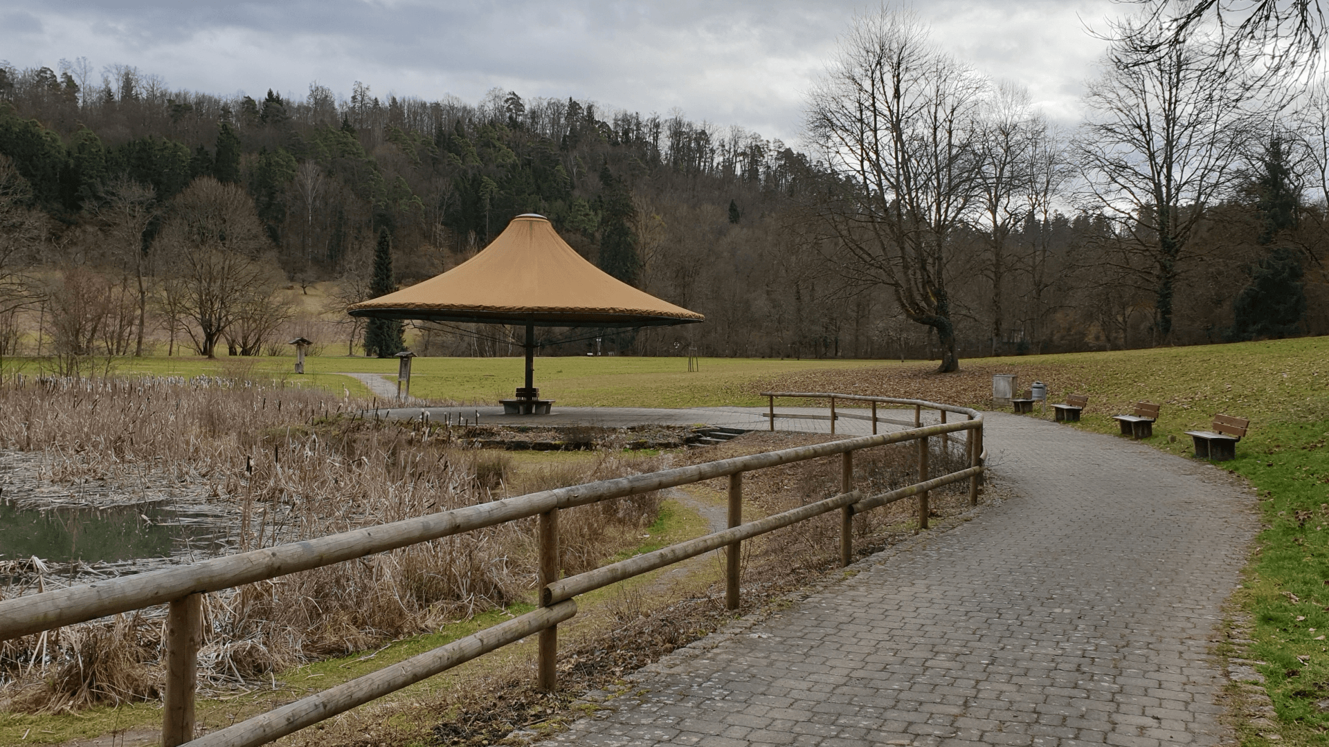 Kurpark - Foto Archiv Arme Schulschwestern