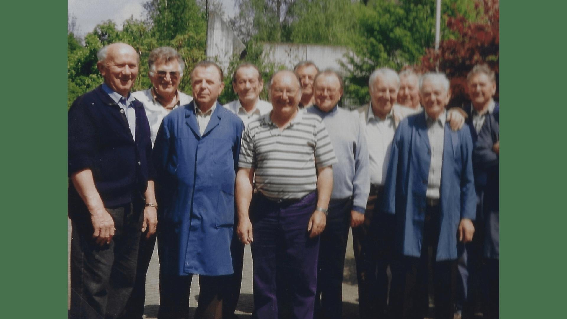 Wallfahrt 1994 – Helferteam. Foto: Archiv Arme Schulschwestern