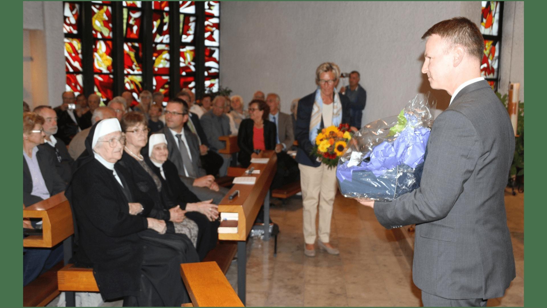 Verabschiedung der beiden letzten Schwestern, Michthildis Eichinger und Borgia Meixner 2016. Foto: Archiv Freundeskreis Filipowa