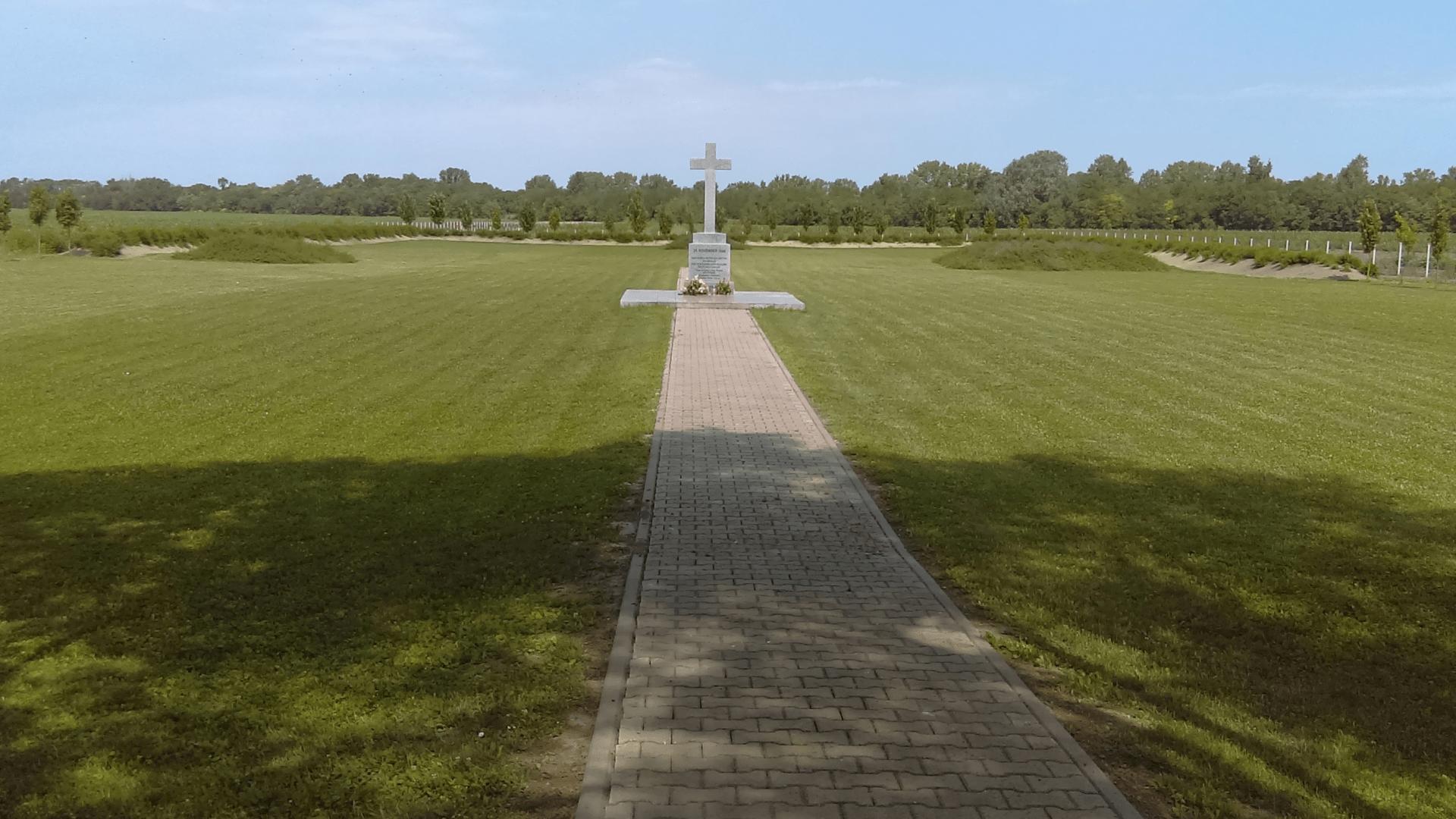 Die Gedenkstätte Heuwiese -2018 - Gesamtansicht. Foto: Archiv Freundeskreis  Filipowa