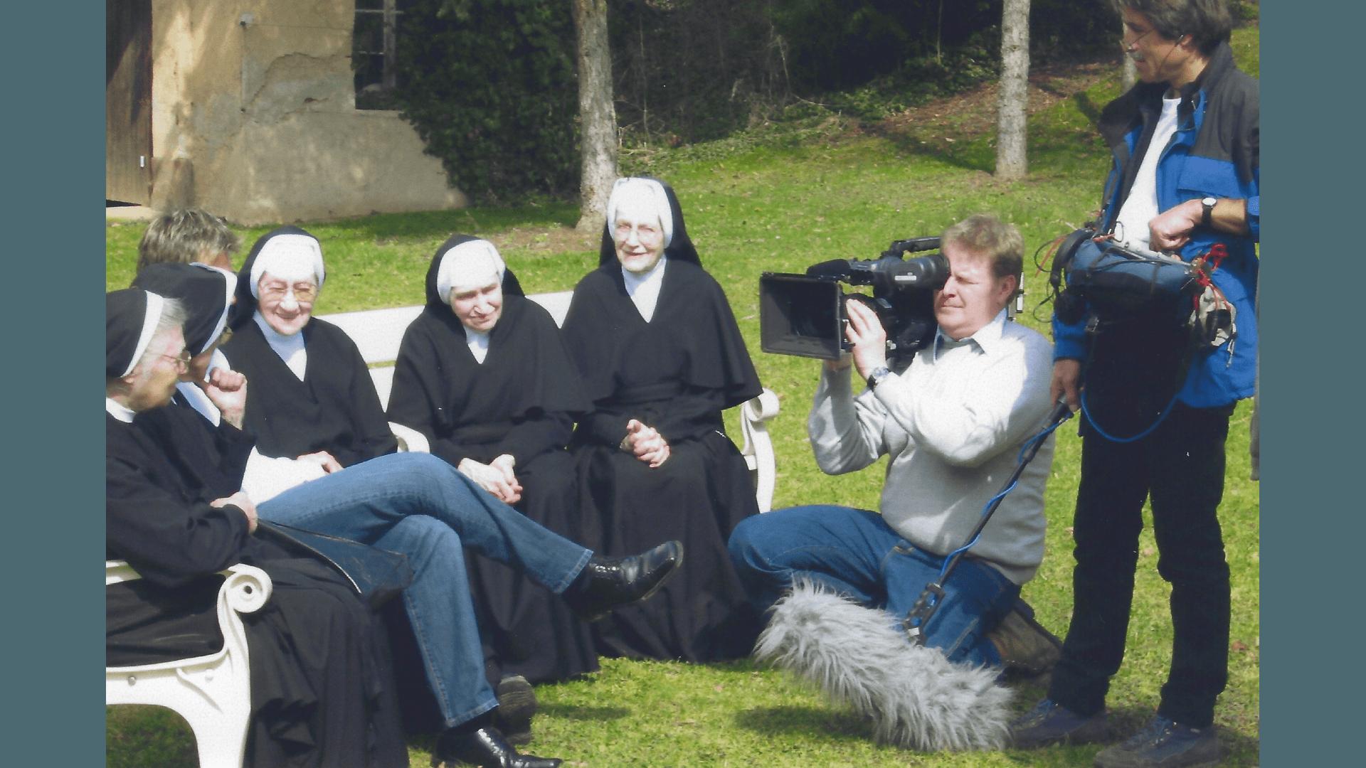 Aufnahmen Fernseh - Sendung 31.3.2008. Foto:  Archiv Arme Schulschwestern