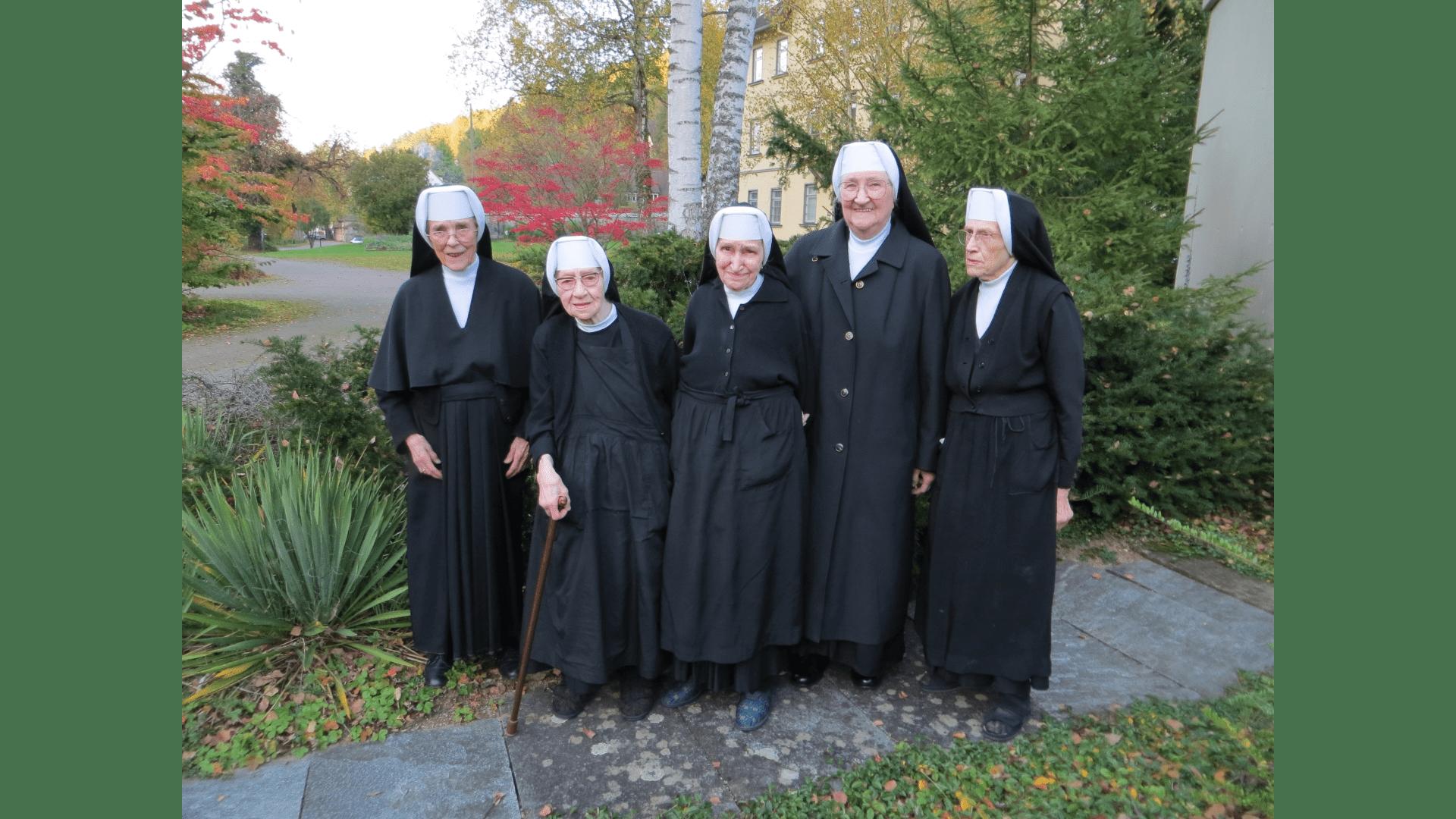 Die noch lebenden Schwestern 2011. Foto Archiv Arme Schulschwestern