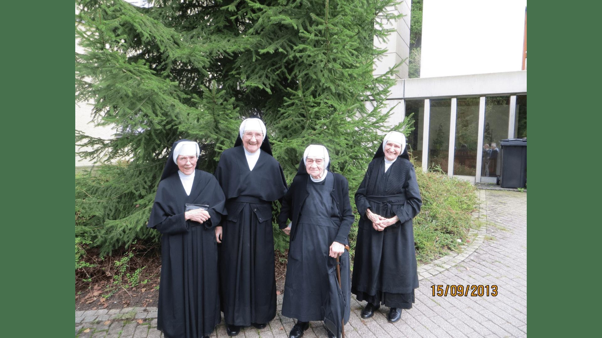 Die noch lebenden Schwestern  2013. Foto: Archiv Arme Schulschwestern