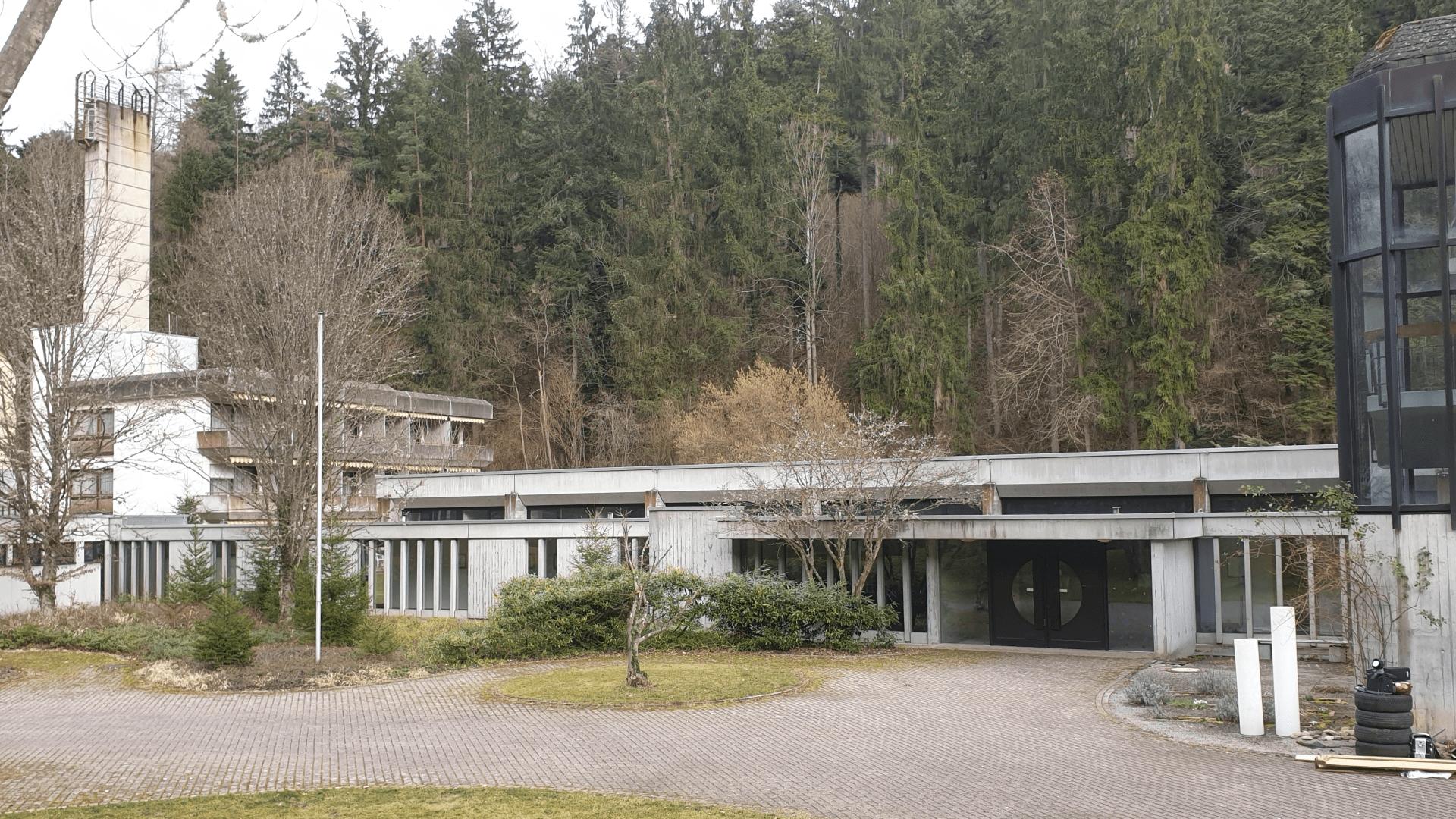 Kurbad-Gebäude. Foto Archiv Arme Schulschwestern