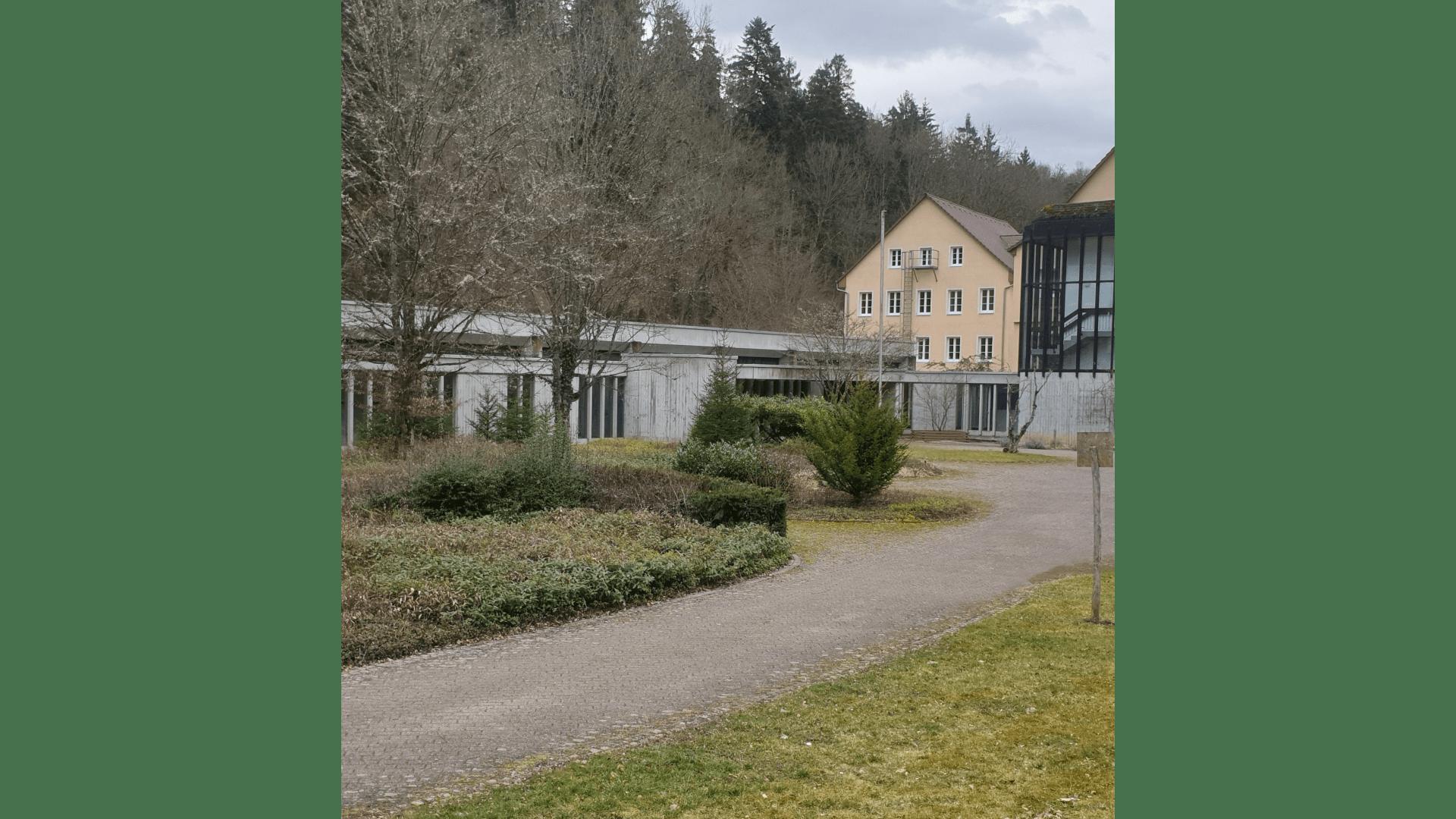 Sanatorium Klinikseite. Foto Archiv Arme Schulschwestern